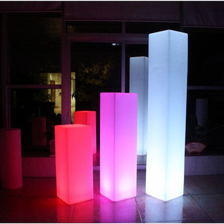 tower pillar led floor light multi