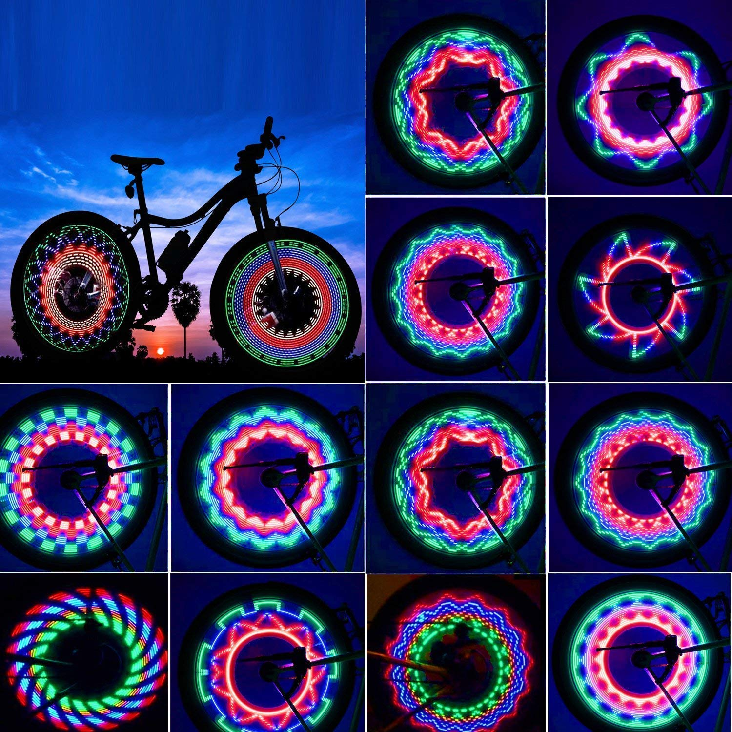 Bicycle LED Wheel Light
