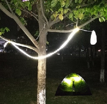 led rope light for camping