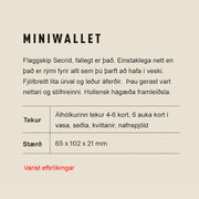 Secrid Miniwallet - DM Night Blue