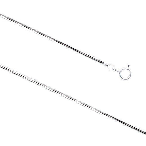Curb Sterling Silver Chain Small Version CH3100