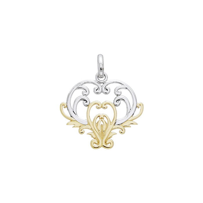 Tree of Life Silver and Gold Pendant MPD1096