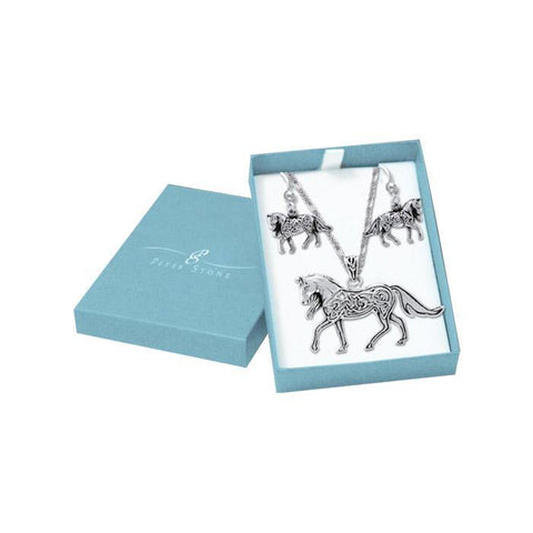 Brigid Ashwood Celtic Horse Gift Box ET069