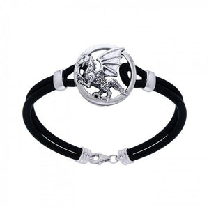 Dragon Leather Cord Bracelet TBL198