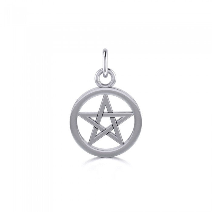 Pentacle charm in Sterling silver TC107