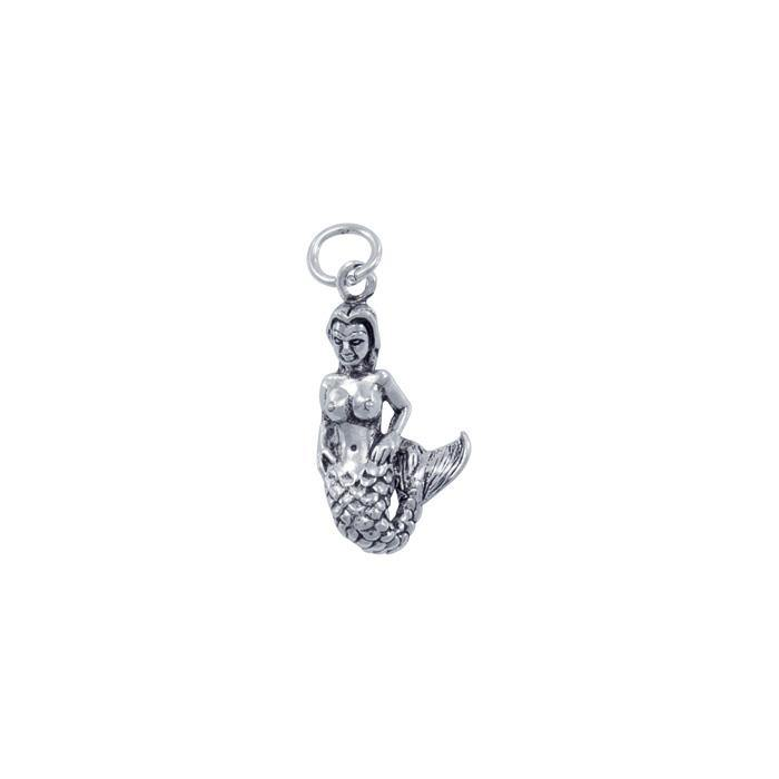 Silver Mermaid Charm TC609