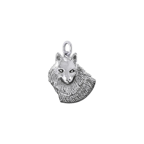 Wonderful Wolf Sterling Silver Charm TCM685