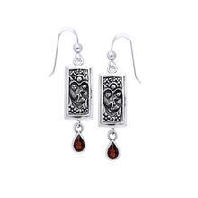 Tarot Silver Earrings TE884