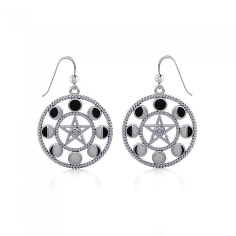 Magick Moon Silver Earrings TER014