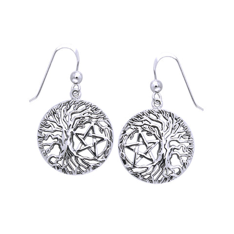 Mickie Mueller Tree Pentacle Earring TER1106
