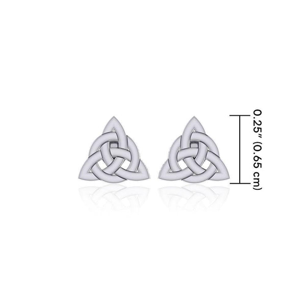 Little Triquetra Post Earrings TER1757