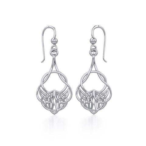 Celtic Knot Silver Earrings TER1901