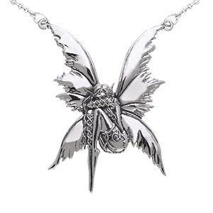 Amy Brown Bashful Fairy Necklace TNC014