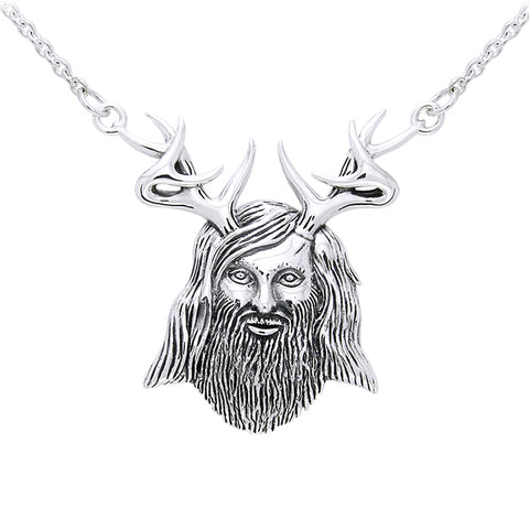 Herne The Hunter Silver Necklace TNC134