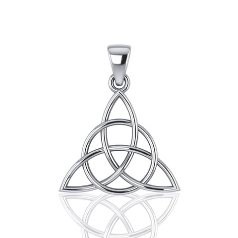 The Divine Power of the Triquetra Sterling Silver Pendant