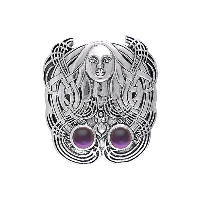 The Mother Goddess Silver Pendant