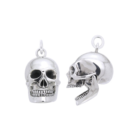 Moveable Skull Silver Pendant TPD1221