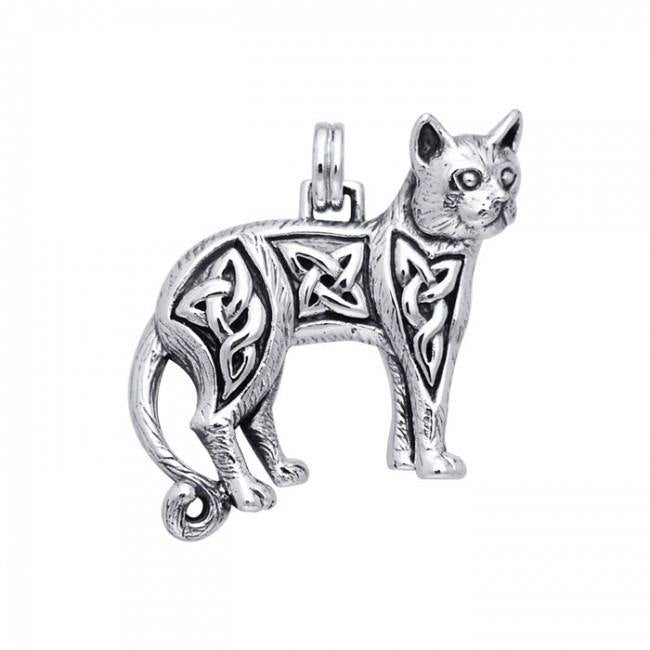 Celtic Cat Pendant TPD333