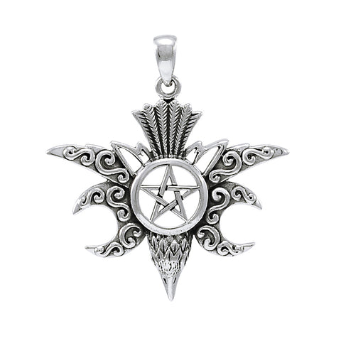Raven Silver Pentacle TPD4220
