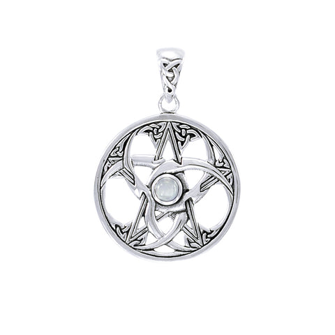 Celtic Knot Triple Moon Pentacle TPD4227