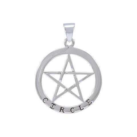 Circle Pentagram Pendants TPD4509