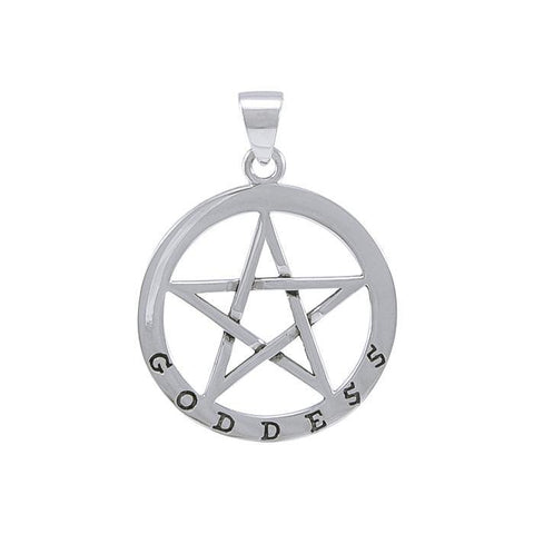 Goddess Pentagram Pendants TPD4510