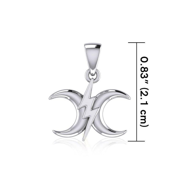 The Power Moon Silver Pendant TPD5257