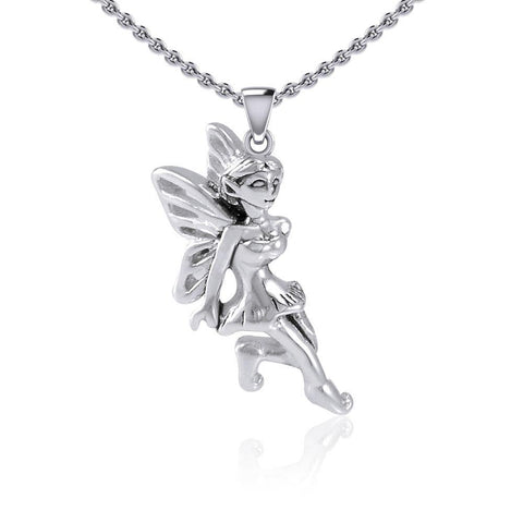 Enchanted Fairy Silver Pendant TPD5397