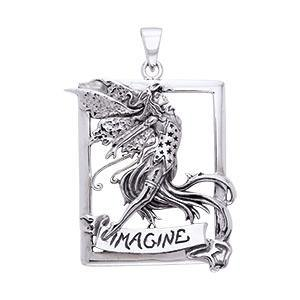 Amy Brown Imagine Fairy Pendant TPD874