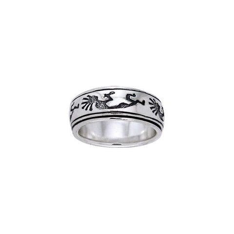 Kokopelli Spinner Ring TR1686