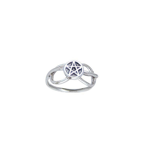 Celtic Infinity Pentacle Ring WZTR3807