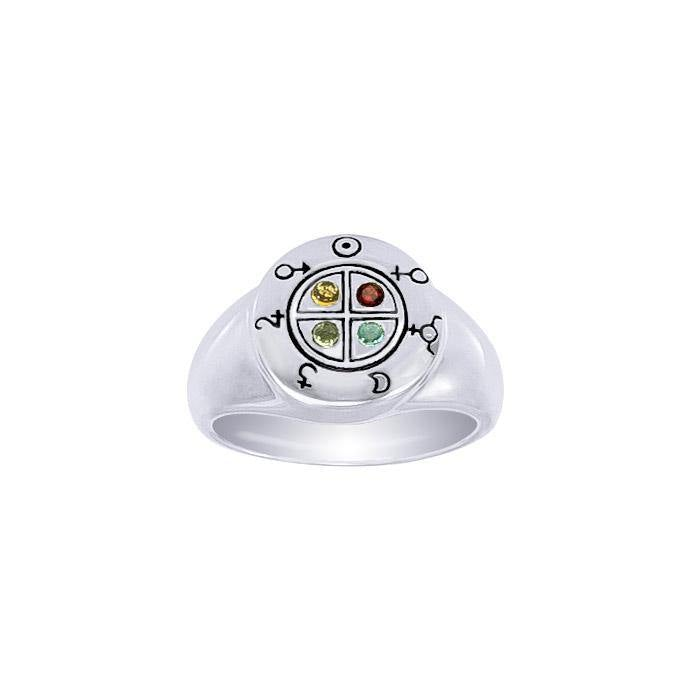 Celestial Enchantments Silver Ring TRI055