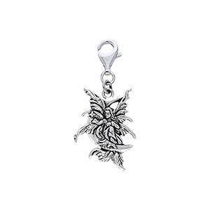 Amy Brown Stargazer Fairy Clip Charm TWC029