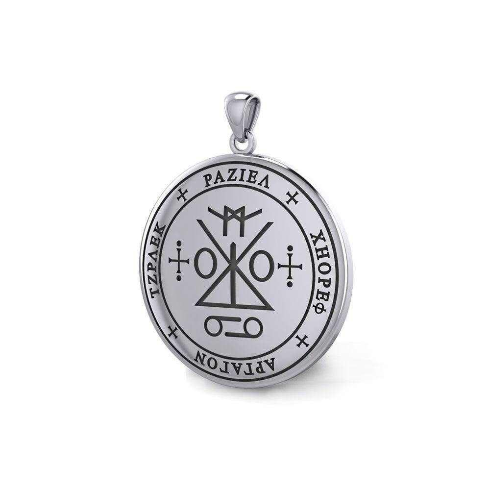 Sigil of the Archangel Raziel Silver Pendant TPD5173