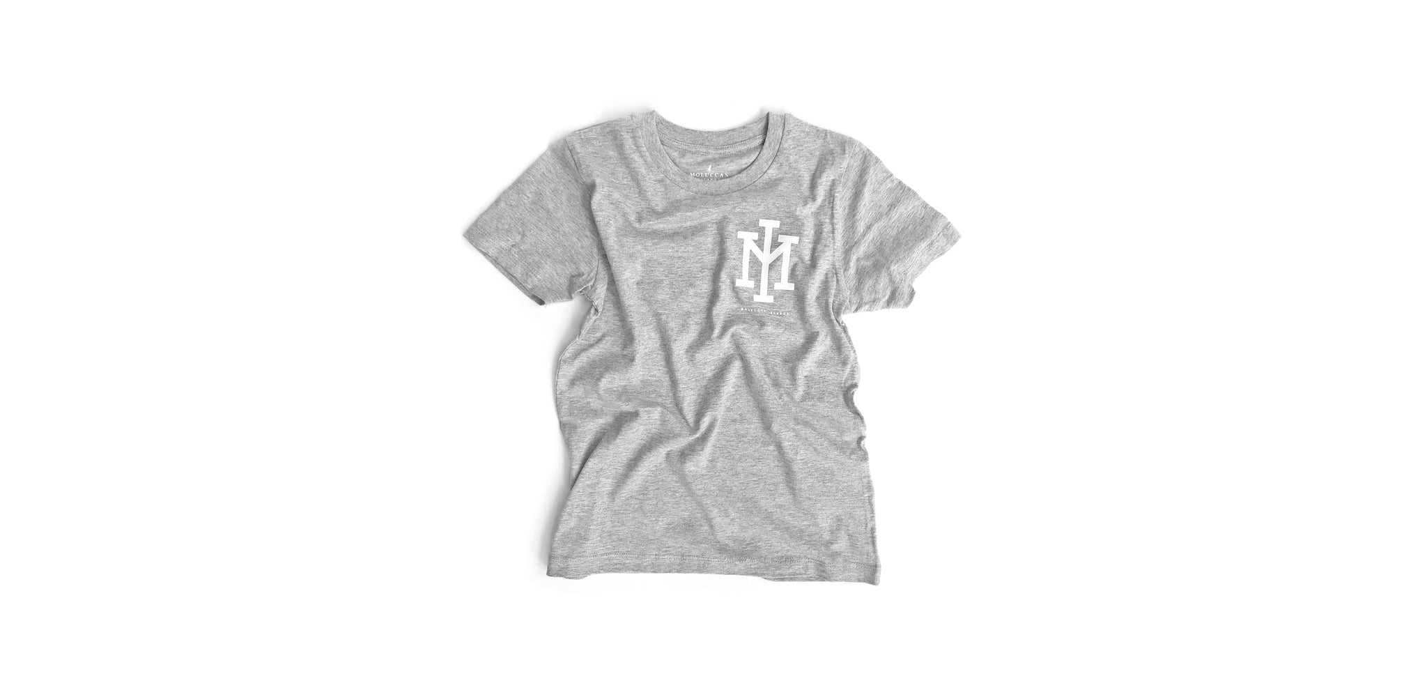 Grey Home Run Kids Tee