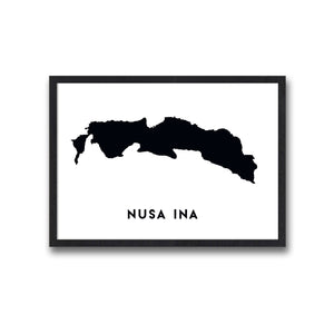 Nusa Ina Poster