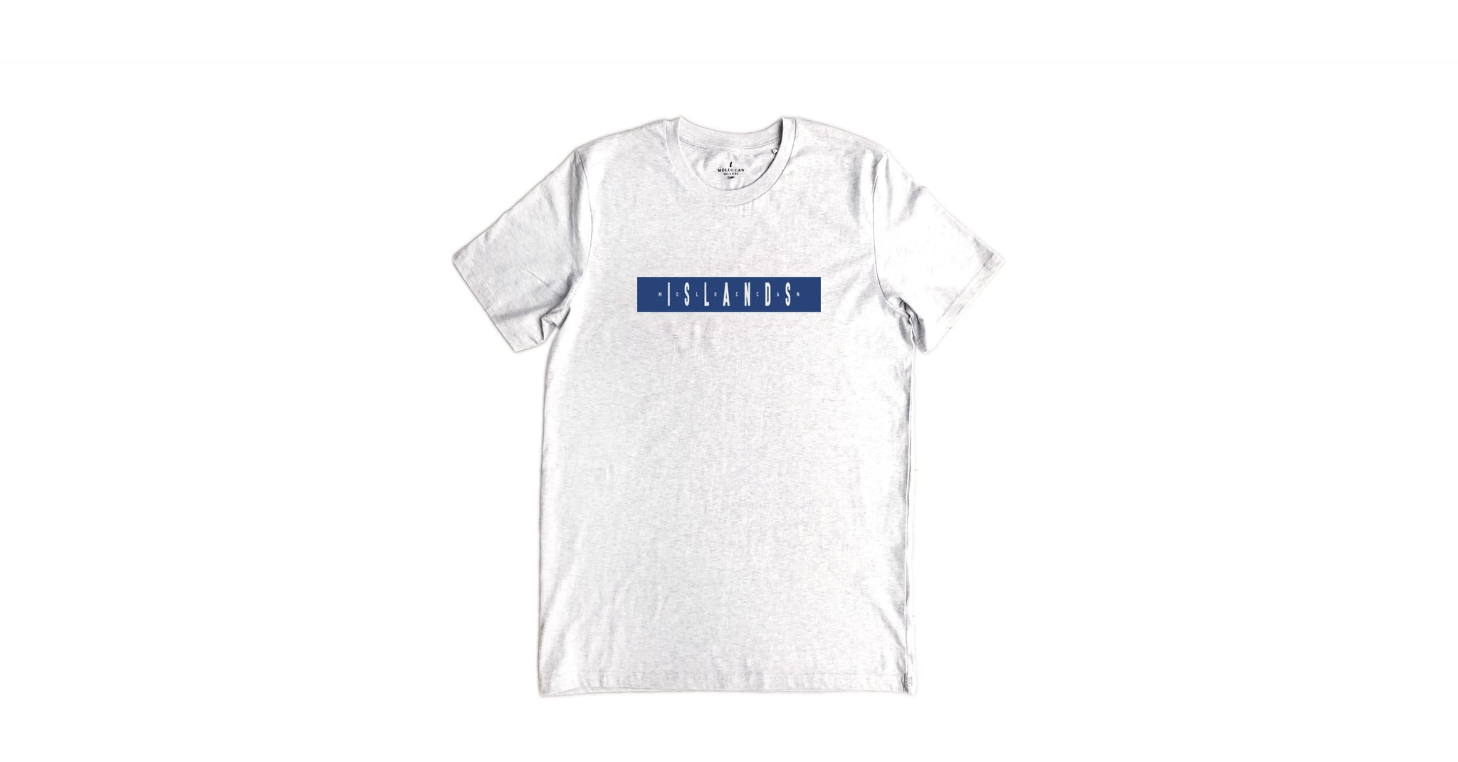 Navy Islands Stripe Tee