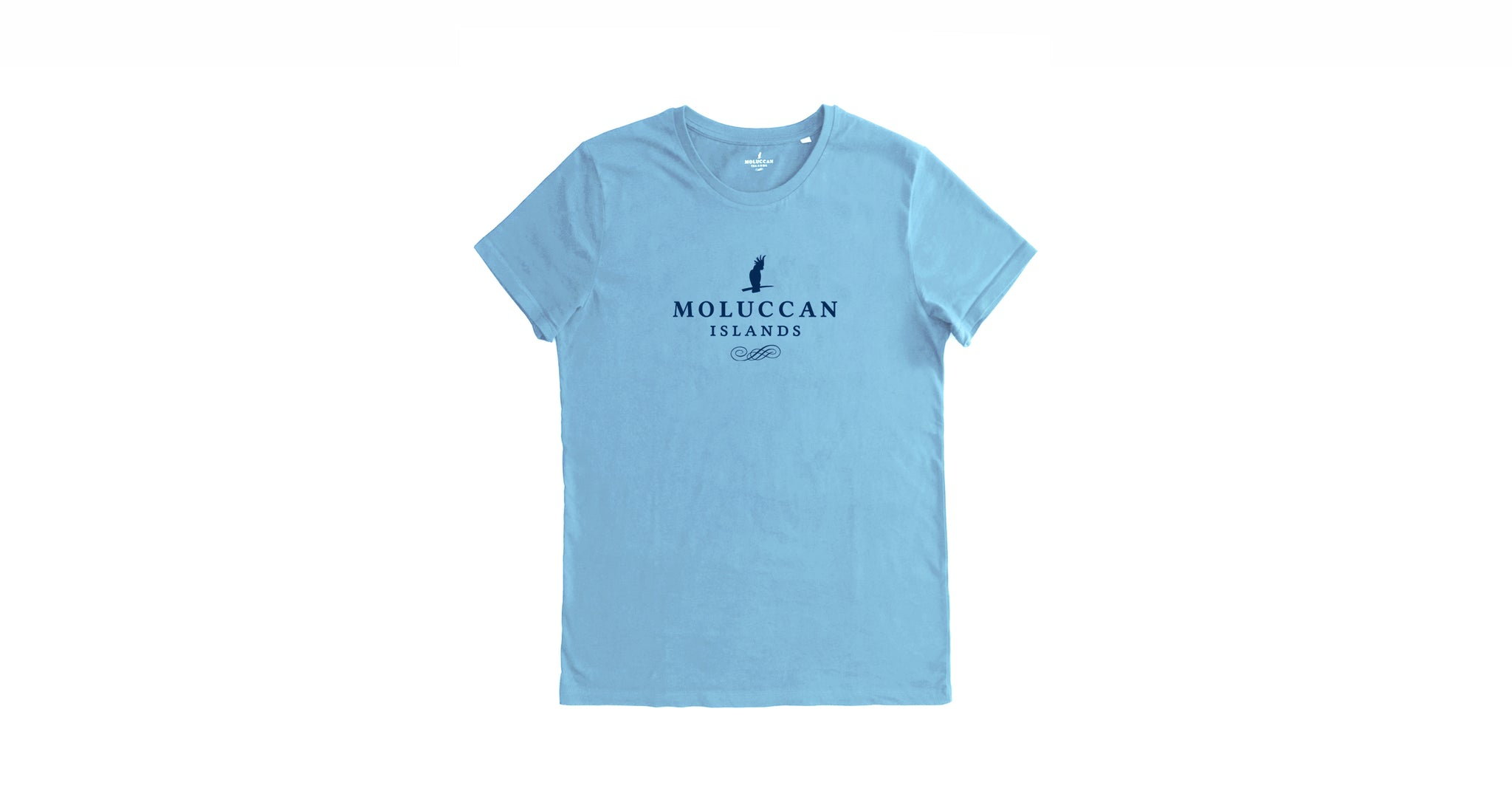 Light Blue MI Logo Tee