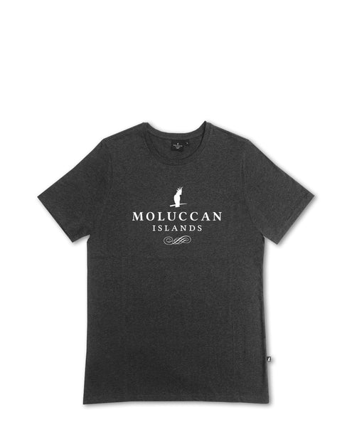 Dark Grey MI Logo Tee