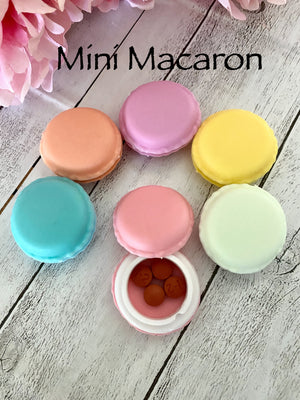 Mini Macaroon Pill Case