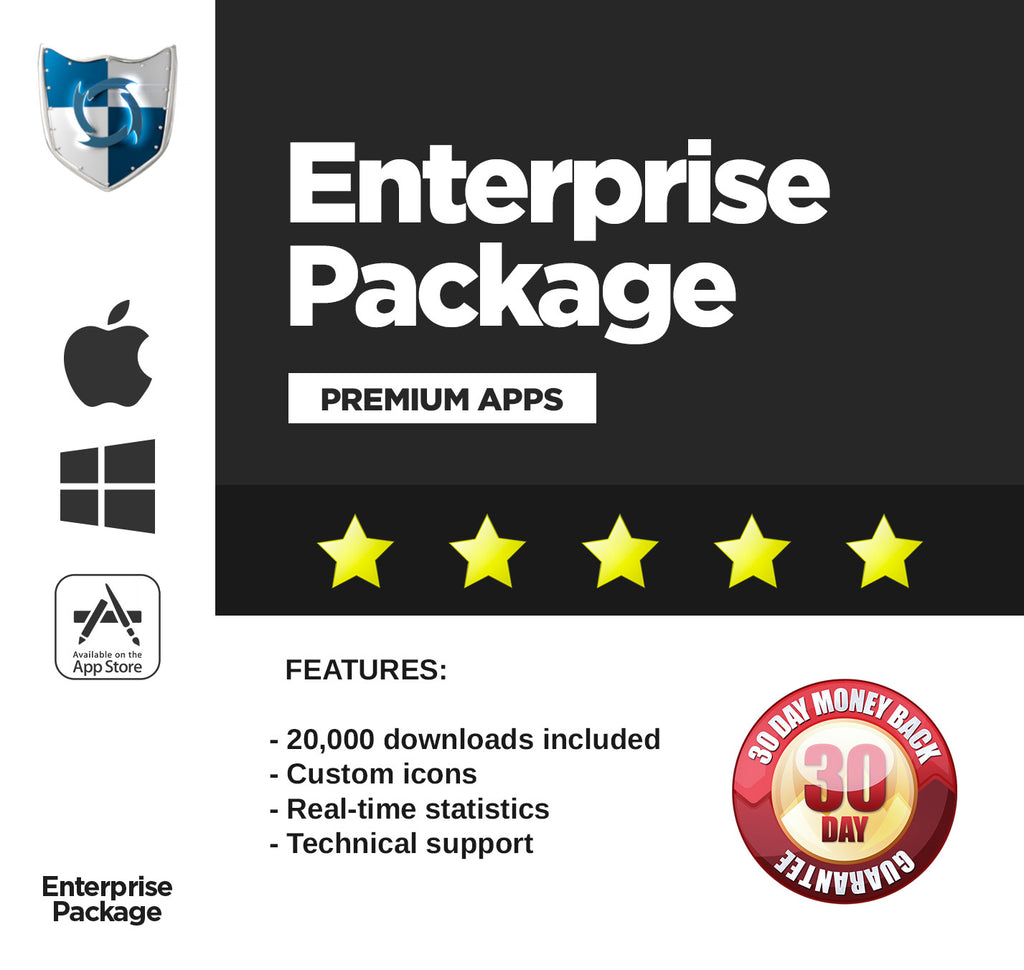 3. Enterprise package - Full Service
