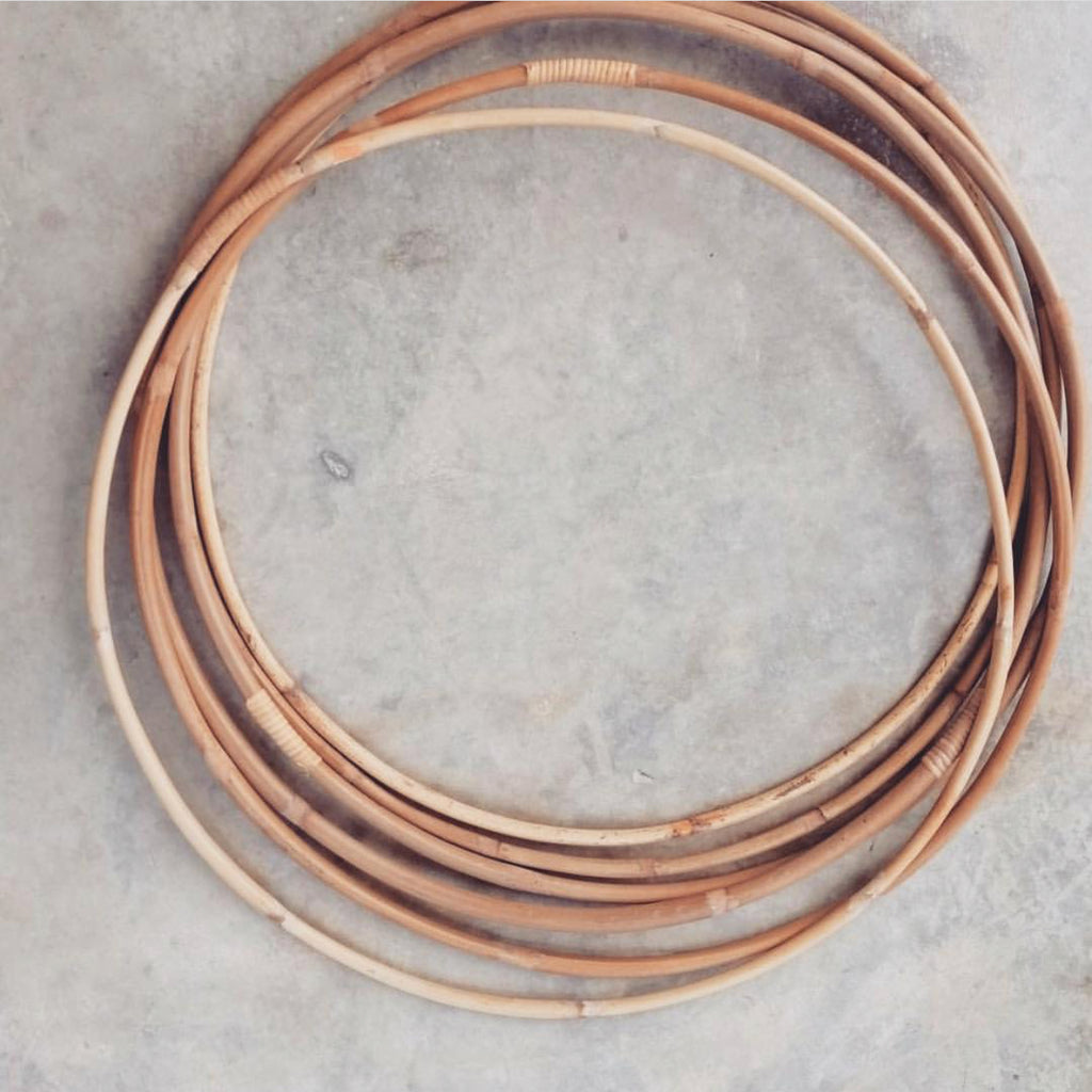 RATTAN HULA HOOP - bpa free- Eco wood- design conscious-Dove and Dovelet