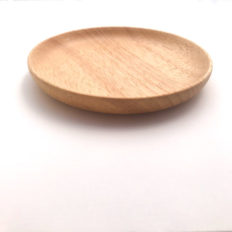 Wood Plate small - bpa free- Eco wood- design conscious-Dove and Dovelet
