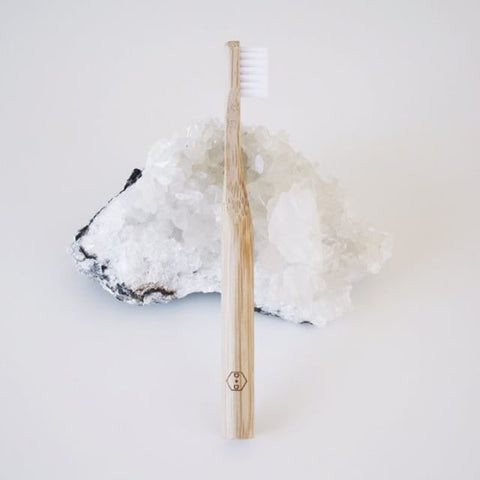 ECO TOOTHBRUSH - bpa free- Eco wood- design conscious-Dove and Dovelet