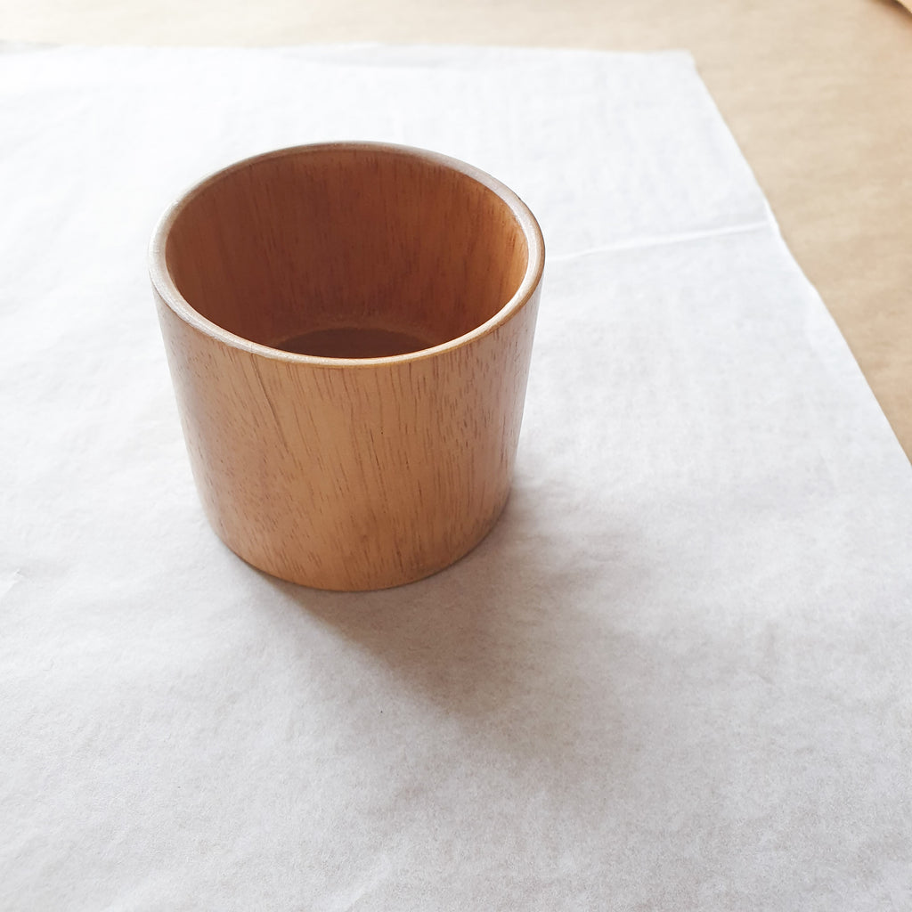 WOOD TRAINING CUP - bpa free- Eco wood- design conscious-Dove and Dovelet