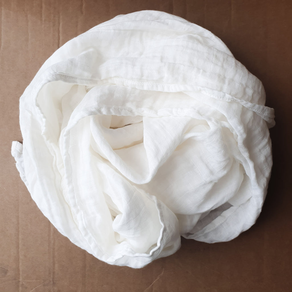 Organic Cotton Muslin Wrap