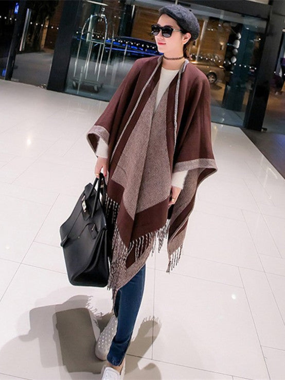 Popular Long Scarf Cashmere Wraps In Winter's Prom Party SW015