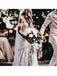 Fashionable Lace Sweetheart Neckline Chapel Train Mermaid Wedding Dresses WD121