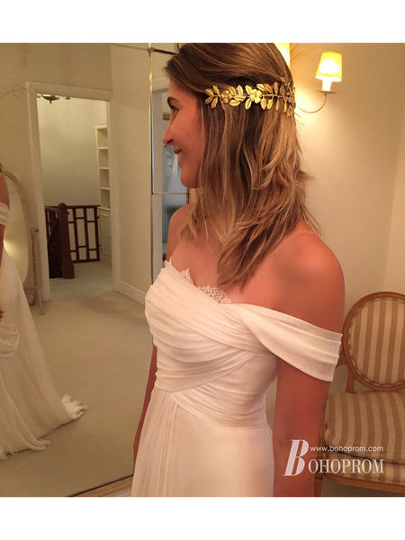 Long Sleeves Sheath Wedding Dresses Lace Appliqued Gowns WD277