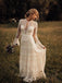 Beautiful Long Sleeves Lace A-Line Wedding Dresses Gowns WD353